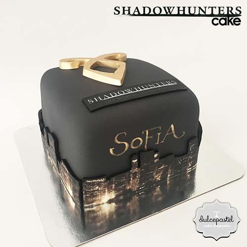 torta shadowhunters envigado medellin dulcepastel
