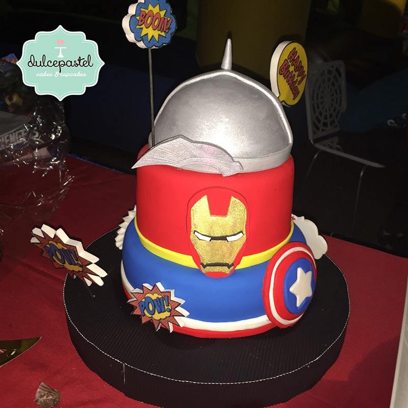 Torta de Avengers en Envigado, Dulcepastel.com