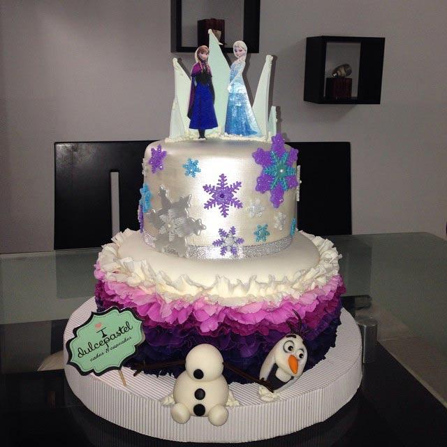 Torta de Frozen en Medellín, Dulcepastel.com