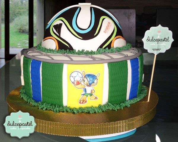 Torta Mundial de Futbol en Envigado, Dulcepastel.com