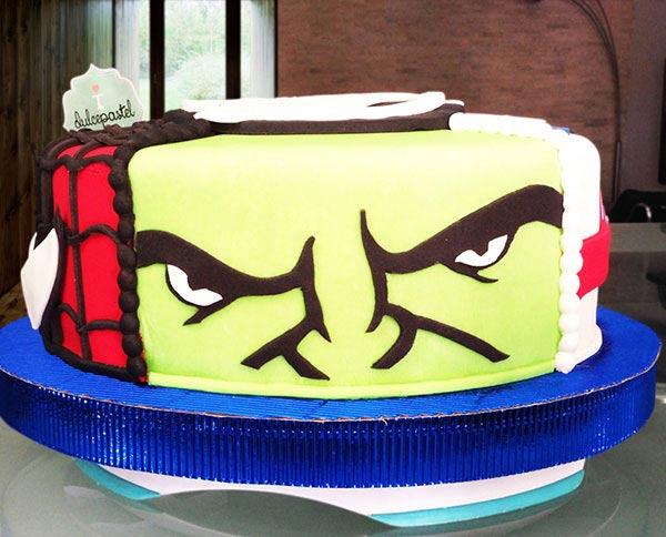 Torta de Hulk en Envigado, Dulcepastel.com