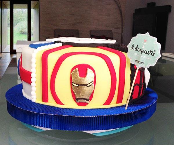 Torta de IronMan en Envigado, Dulcepastel.com