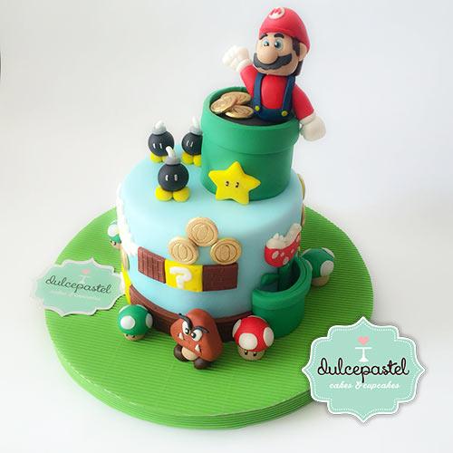 Torta de Mario Bros. Dulcepastel