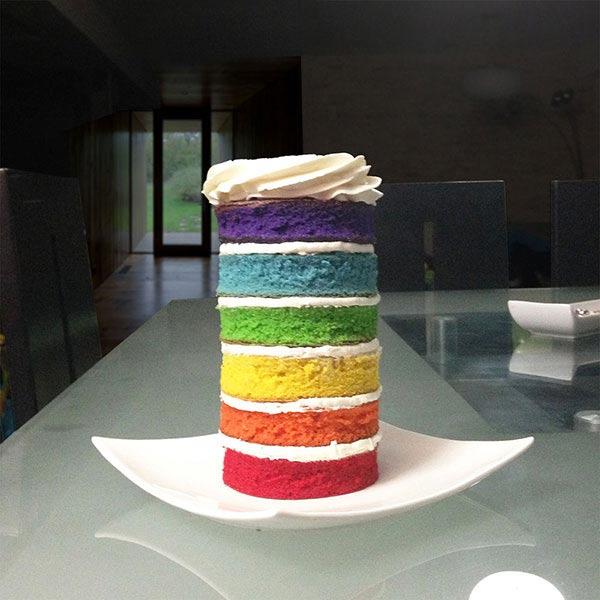 Torta ArcoIris en Envigado, Dulcepastel.com