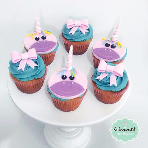 cupcakes unicornio envigado medellin dulcepastel