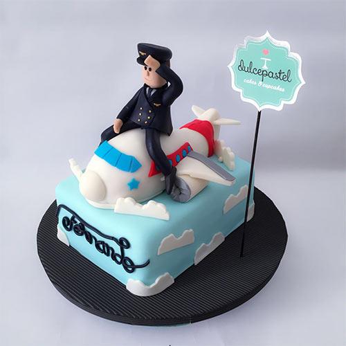 torta piloto avion envigado medellin dulcepastel