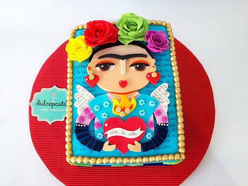 torta frida kahlo envigado medellin dulcepastel