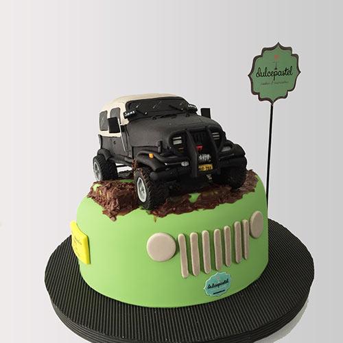 torta jeep wrangler envigado medellin dulcepastel