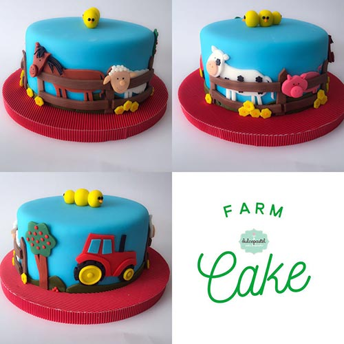 torta granja envigado medellin dulcepastel