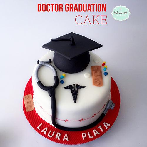 torta graduacion medico medellin envigado dulcepastel