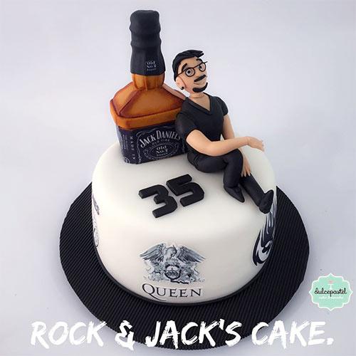 torta rock envigado medellin dulcepastel