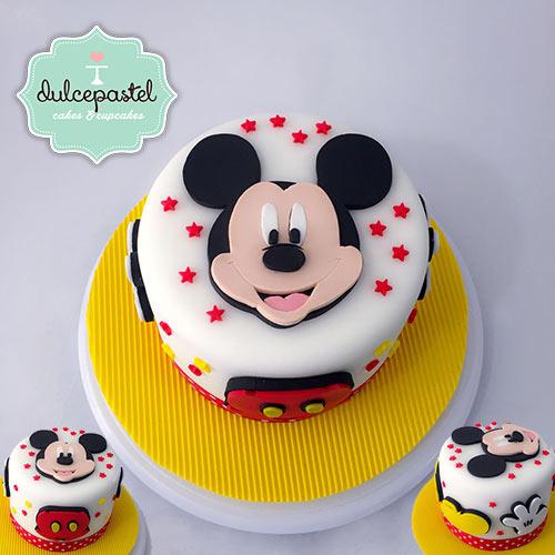 torta mickey envigado medellin dulcepastel