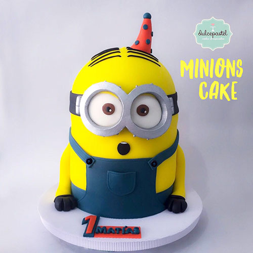 torta minion envigado medellin dulcepastel