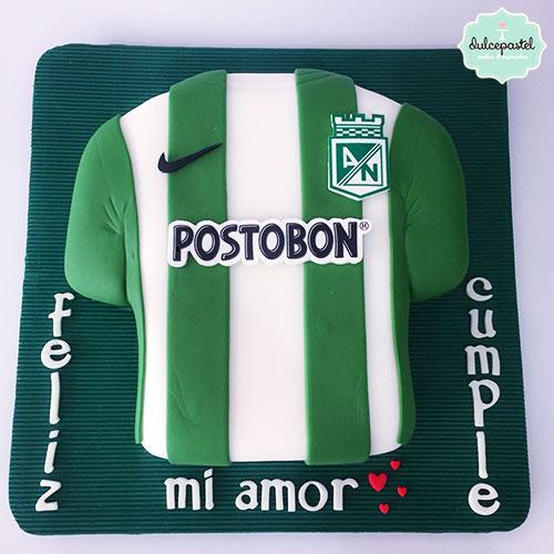 torta atlético nacional medellin envigado dulcepastel