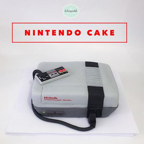 torta nintendo medellin envigado dulcepastel
