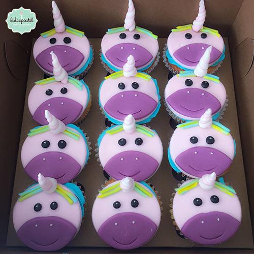 cupcakes unicornio medellin envigado dulcepastel