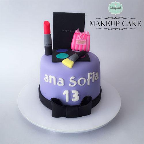 torta maquillaje medellin envigado dulcepastel