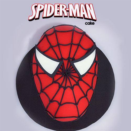 torta spiderman medellin envigado dulcepastel
