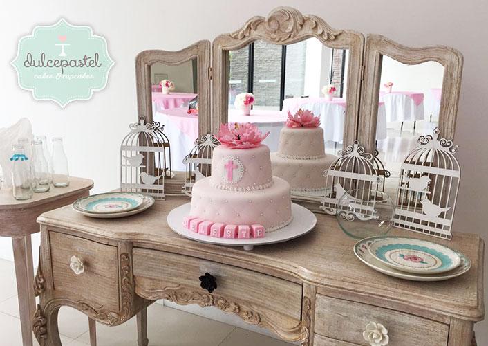 torta bautizo medellin envigado dulcepastel