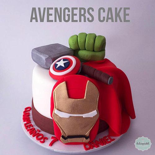 torta superheroes medellin envigado dulcepastel