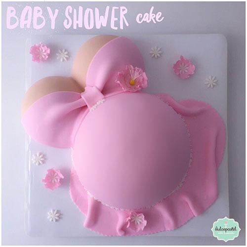 torta baby shower medellin envigado dulcepastel