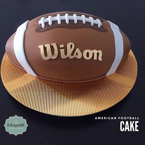 torta balon futbol americano medellin dulcepastel