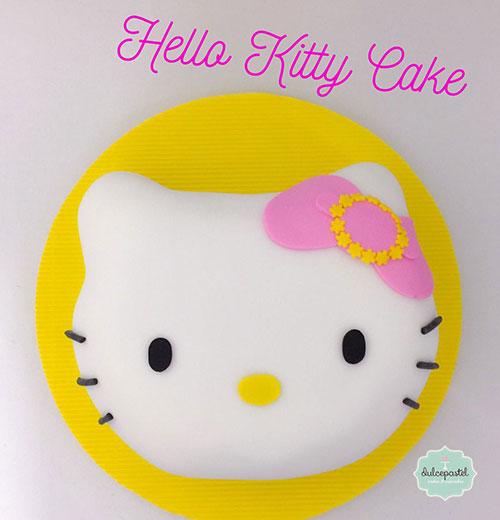 torta hello kitty medellin dulcepastel