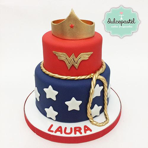 torta mujer maravilla medellin envigado