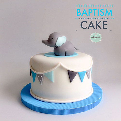 torta bautizo medellin dulcepastel