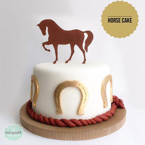 torta caballo colombia dulcepastel