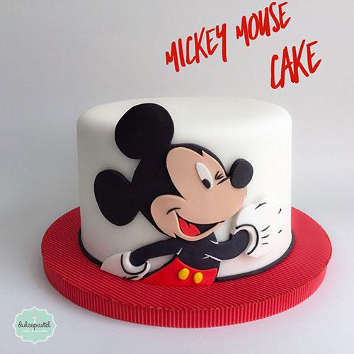 torta mickey medellin dulcepastel