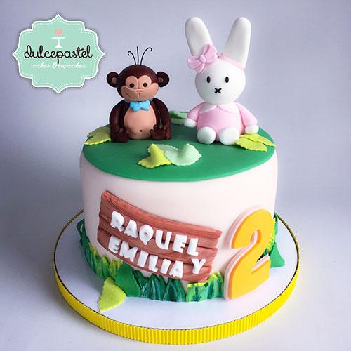 torta mico conejo medellin dulcepastel