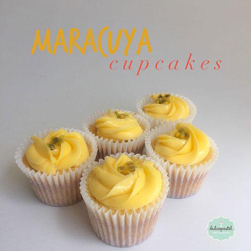 cupcakes maracuya medellin dulcepastel