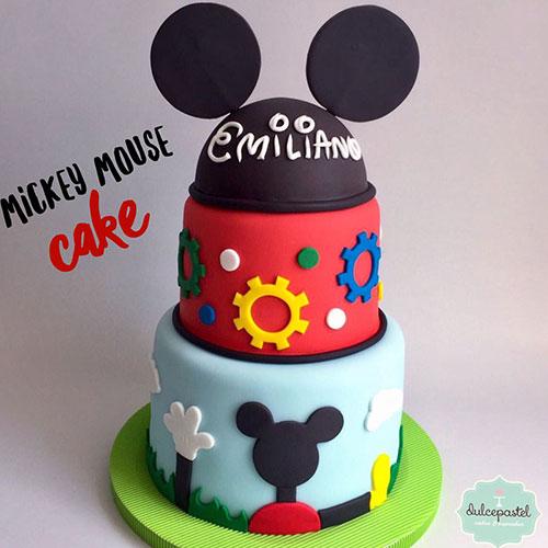 torta mickey envigado dulcepastel