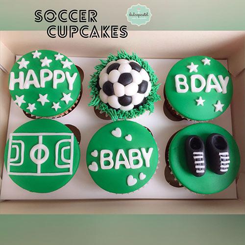 cupcakes atletico nacional medellin dulcepastel