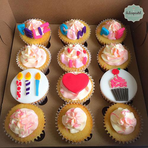 cupcakes cumpleaños medellin dulcepastel