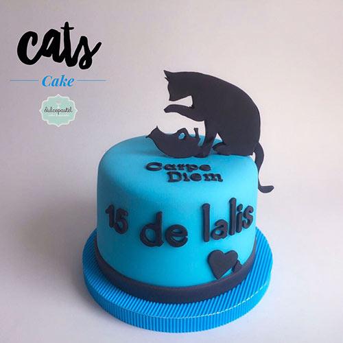torta gatos medellin dulcepastel