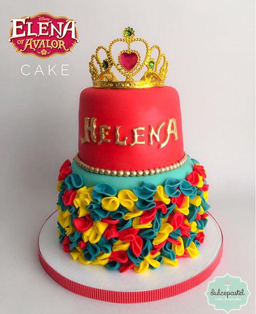torta elena avalor medellin dulcepastel