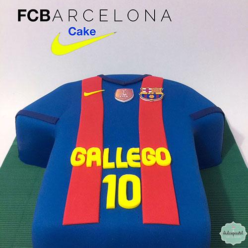 torta barcelona fc medellin dulcepastel