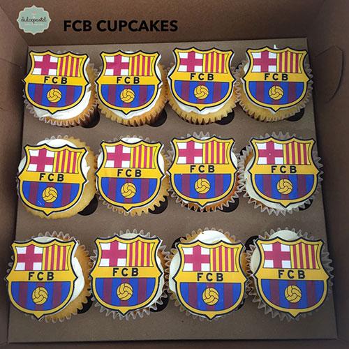 cupcakes barcelona futbol dulcepastel