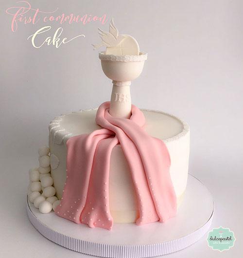 torta primera comunión medellín