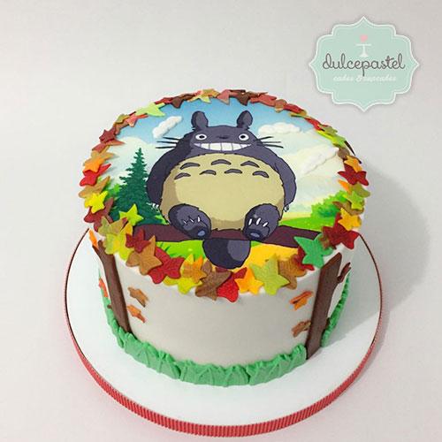 torta totoro medellin dulcepastel