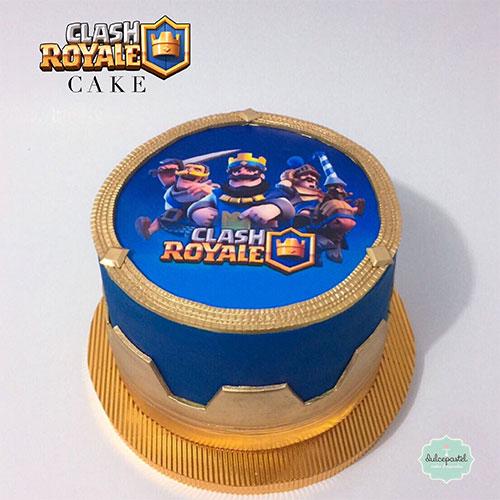 torta clash royale medellin dulcepastel