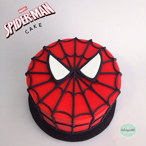 torta hombre araña medellin dulcepastel