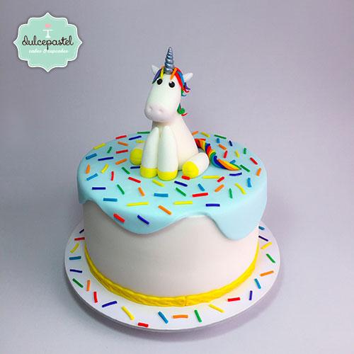 torta unicornio colombia dulcepastel