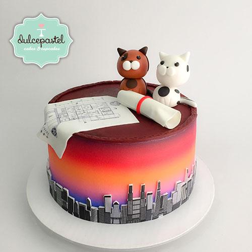 torta arquitecto medellin dulcepastel