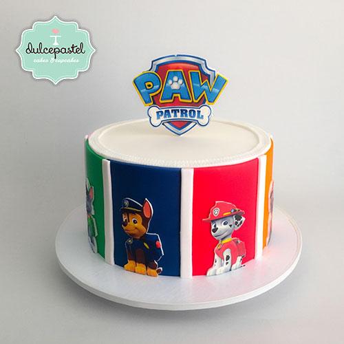 torta patrulla canina envigado dulcepastel