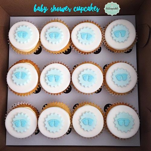 cupcakes baby shower medellin dulcepastel