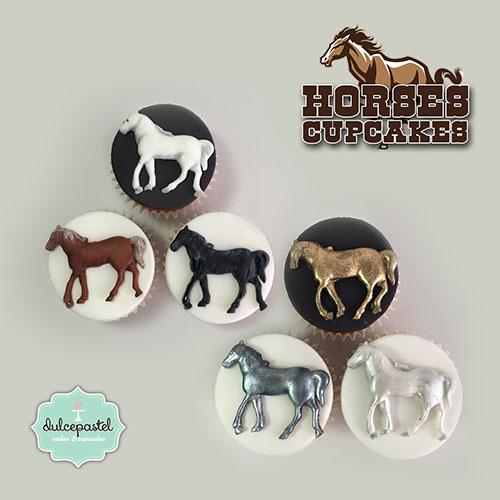 cupcakes caballos medellin dulcepastel