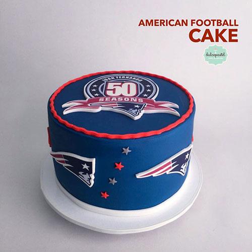 torta futbol americano envigado dulcepastel